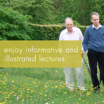 Enjoy informative and illustrated lectures - GGLT